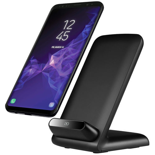 10W Qi Fast Wireless Charging Stand for Samsung Galaxy S9 / S9+